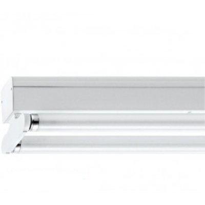 Dubbele LED TL Armatuur Opbouw IP22 - 120/150CM