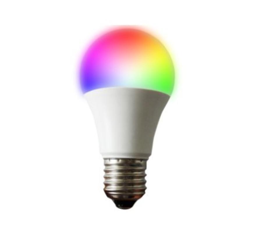 LED E27 Lamp - A60 - 6W - 2700K - Multicolour
