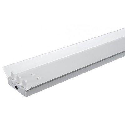 Driedubbele LED TL Armatuur Reflector - IP22 - 150CM