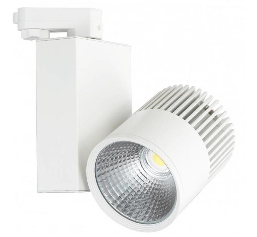 LED Railspots - 30W - 2550 Lumen - 3 Fase