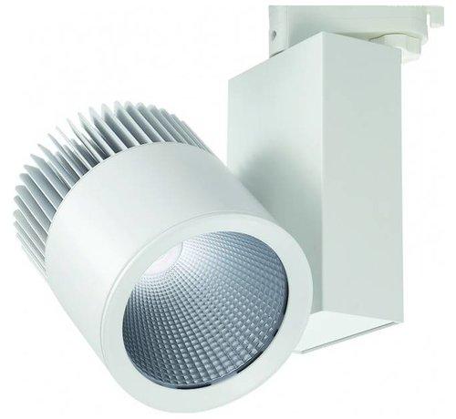Lightexpert.nl LED Railspots - 40W - 3400 Lumen - 3 Fasese
