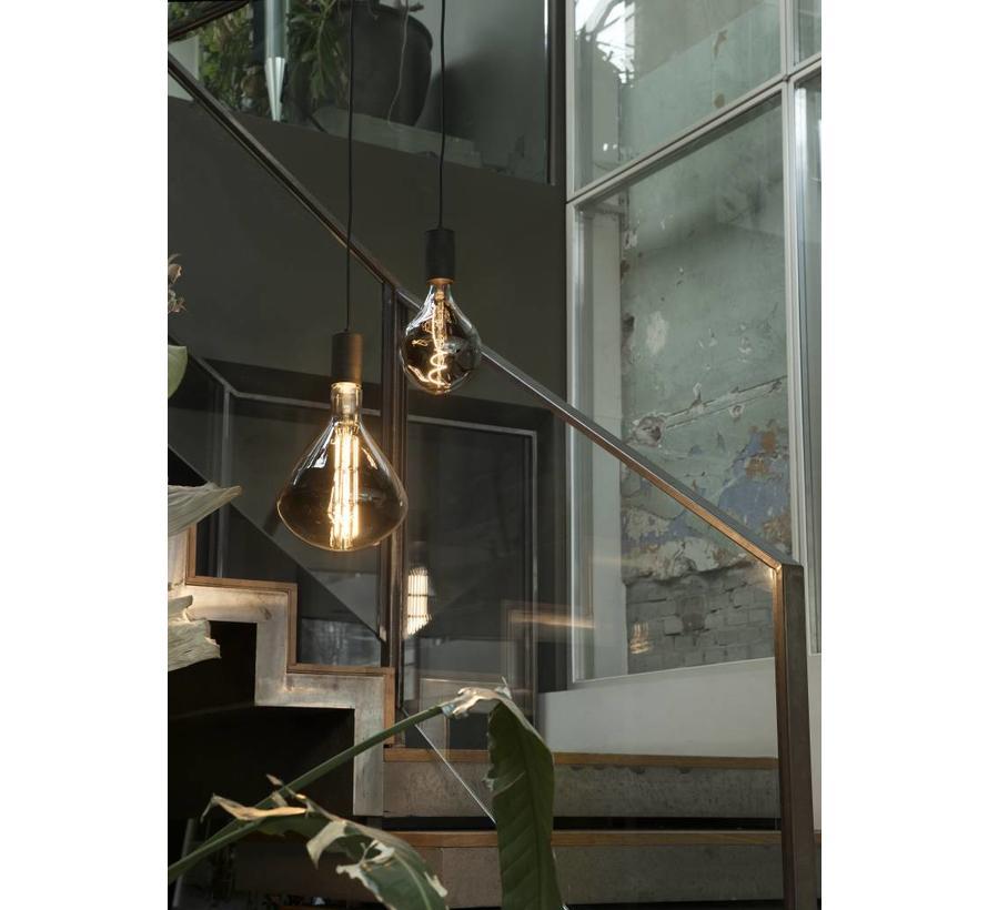 Calex Organic Globe LED Lamp Ø165  - E27 - 90 Lm - Titanium