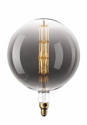Calex Manhattan Globe LED Lamp Ø300  - E27 - 200 Lm - Titanium