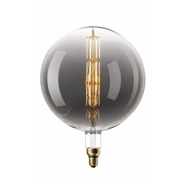 Calex Calex Manhattan Globe LED Lamp Ø300  - E27 - 200 Lm - Titanium
