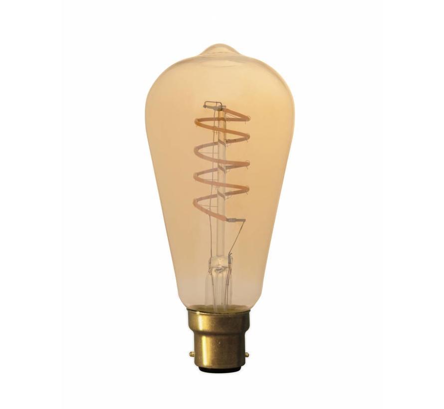 Calex Rustic LED Lamp Flexible - B22 - 200 Lm - Goud