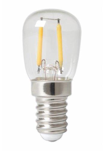 Calex Pilot LED Lamp Filament - E14 - 100 Lm - Zilver