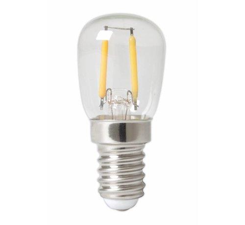 Calex Calex Pilot LED Lamp Filament - E14 - 100 Lm - Zilver
