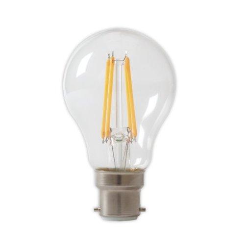 Calex Calex Premium LED Lamp Filament - B22 - 390 / 810 Lm - Zilver
