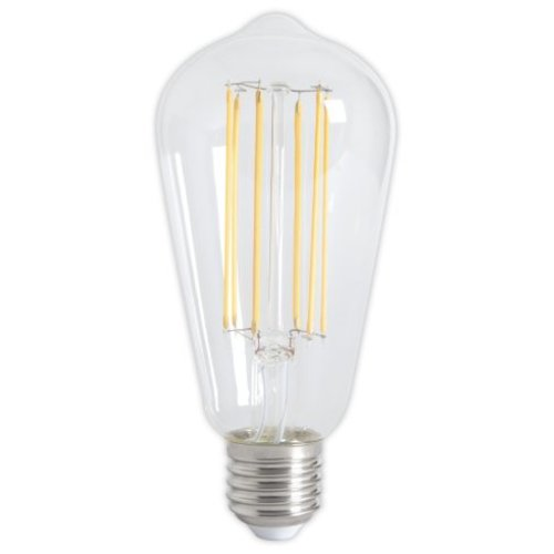 Calex Calex Rustic LED Lamp Warm - E27 - 320 Lm - Goud / Clear