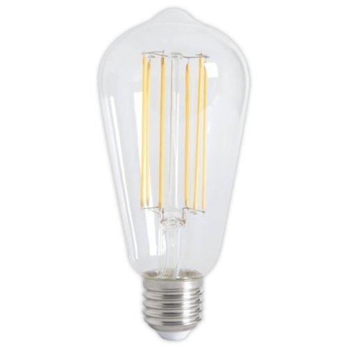 Calex Calex Rustic LED Lamp Warm - E27 - 320 Lumen - Goud / Clear