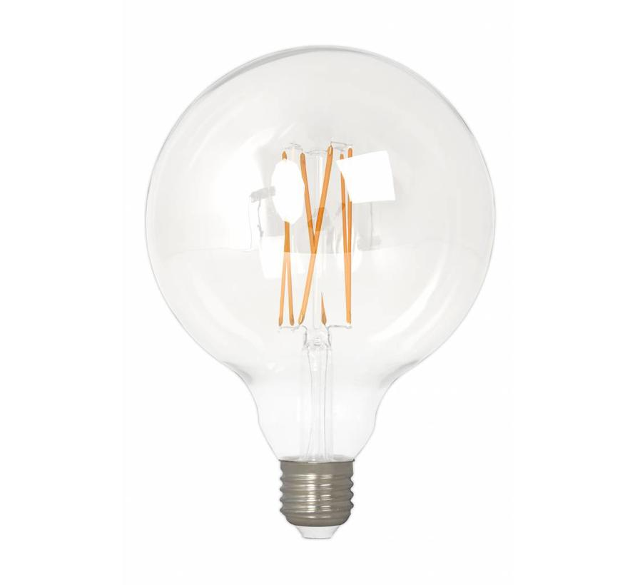 Calex Globe LED Lamp Warm Ø125 - E27 - 320 Lm - Goud / Clear