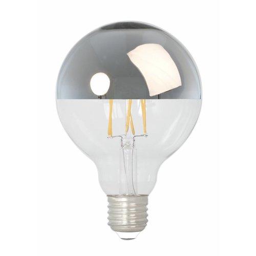Calex Calex Globe LED Mirror Lamp Warm - E27 - 280 Lm - Goud / Zilver