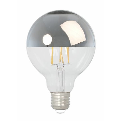 Calex Calex Globe LED Mirror Lamp Warm - E27 - 280 Lumen - Goud / Zilver