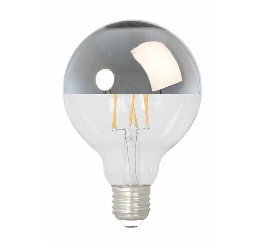 Calex Globe LED Mirror Lamp Warm - E27 - 280 Lm - Goud / Zilver