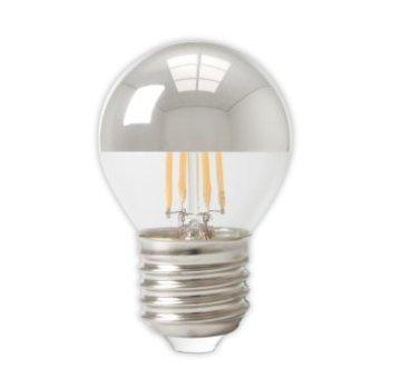 Calex Calex Spherical LED Mirror Lamp Warm - E27 -310 Lm - Zilver