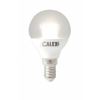 Calex Spherical LED Lamp Vario - E14 - 380 Lm - Wit Zilver