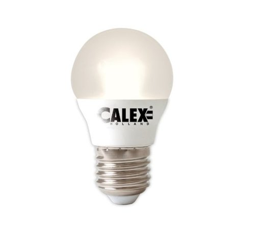 Calex Calex Spherical LED Lamp Vario - E27 - 380 Lm - Wit Zilver