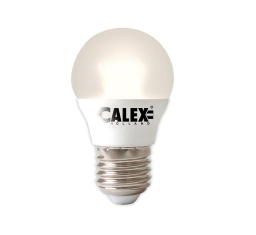Calex Spherical LED Lamp Vario - E27 - 380 Lm - Wit Zilver