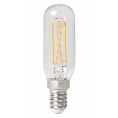 Calex Tubular LED Lamp Filament - E14 - 310 Lm - Zilver