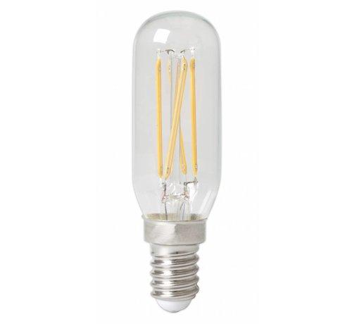 Calex Calex Tubular LED Lamp Filament - E14 - 310 Lm - Zilver