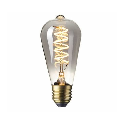Calex Rustic LED Lamp Flexible - E27 - 100 Lm - Titanium