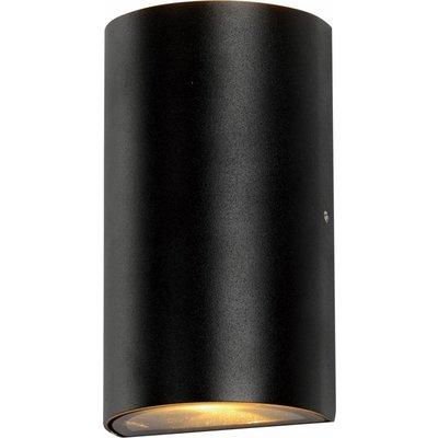 Wandlamp buiten - Fresno - zwart