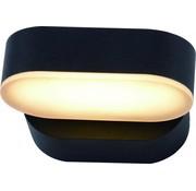 Lightexpert.nl Wandlamp buiten - Madrid - Zwart