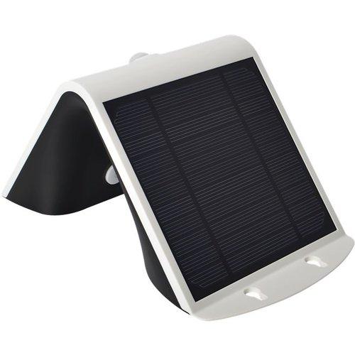 Lightexpert.nl Solar Wandlamp Sensor - 3W - 4000K - 400 Lumen - Wit