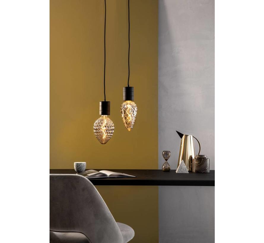 Calex Madrid LED Lamp Ø125 - E27 - 60 Lumen - Titanium