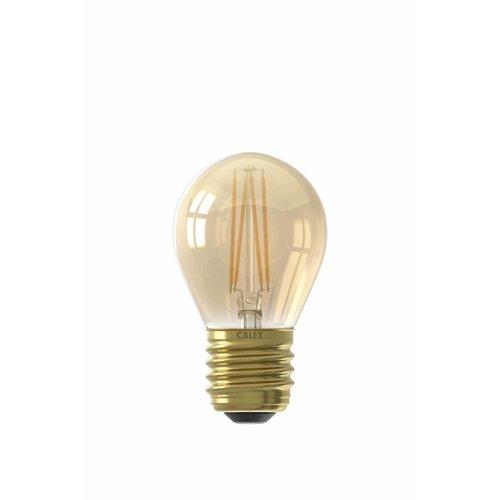 Calex Calex Spherical LED Lamp Ø45 - E27 - 130 Lm - Goud Finish