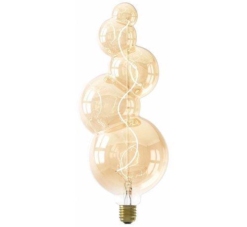 Calex Calex Alicante LED Lamp Ø125 - E27 - 60 Lumen - Goud