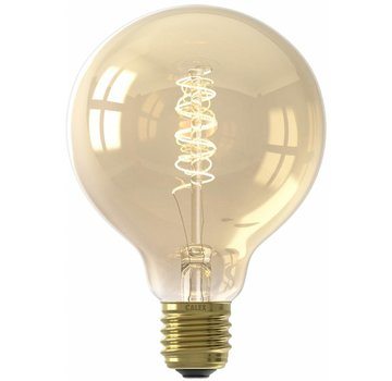 Calex Calex Premium Globe LED Lamp Ø95 - E27 - 200 Lumen - Goud Finish