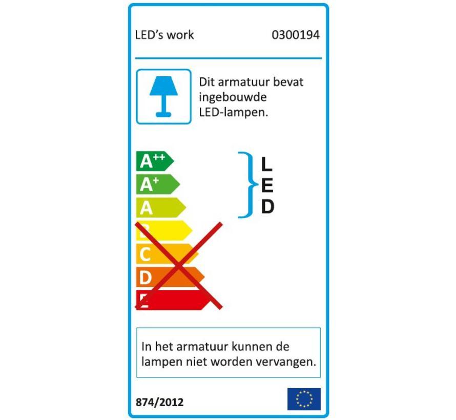 LED Bouwlamp 50W - IP65 - 3750 Lumen