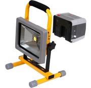 Lightexpert.nl LED Bouwlamp Accu Verwisselbaar 20W - 1500 Lumen
