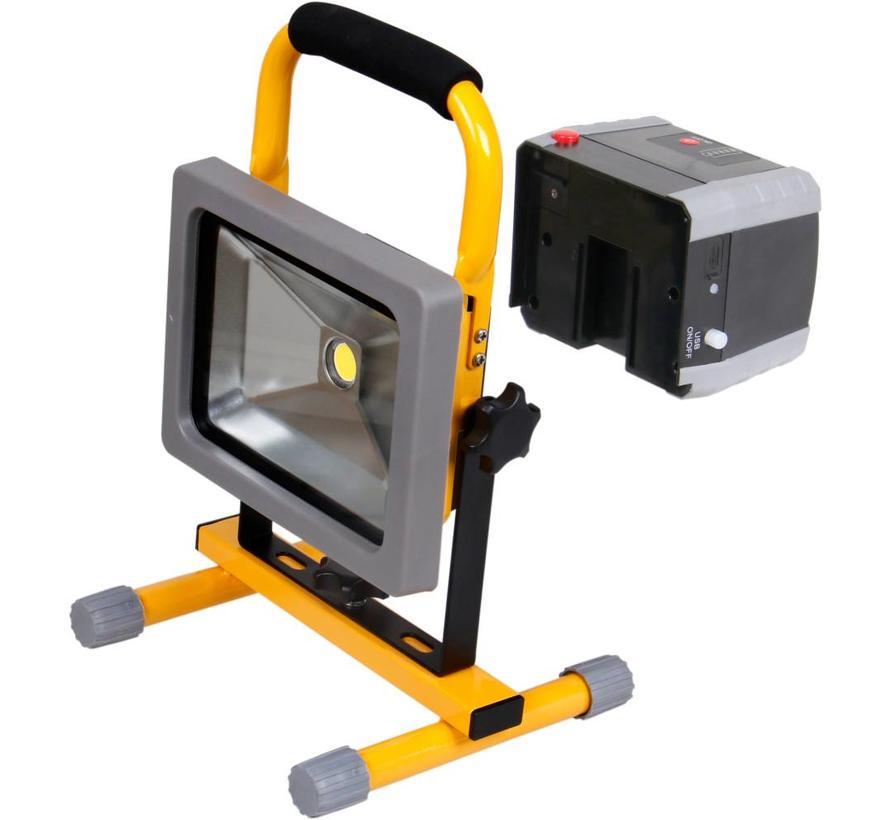 LED Bouwlamp Accu Verwisselbaar 20W - 1500 Lumen