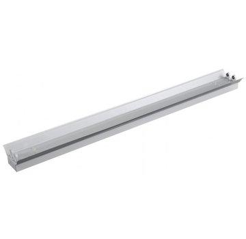 Lightexpert.nl Dubbele LED TL Armatuur Reflector IP22 - 150CM