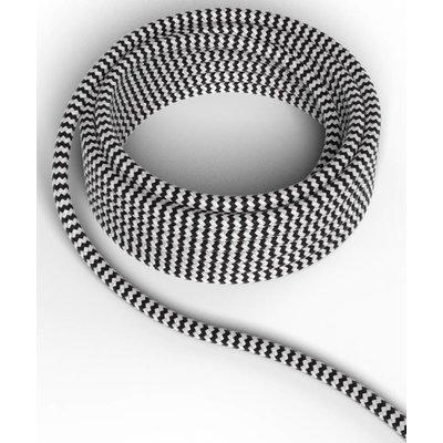 Calex Strijkijzersnoer - Zwart / Wit