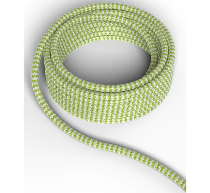 Calex Strijkijzersnoer - Lime / Wit