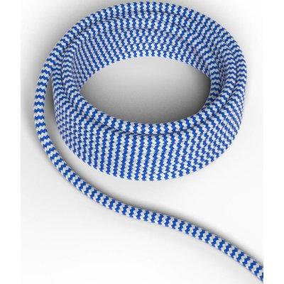 Calex Strijkijzersnoer - Blauw / Wit