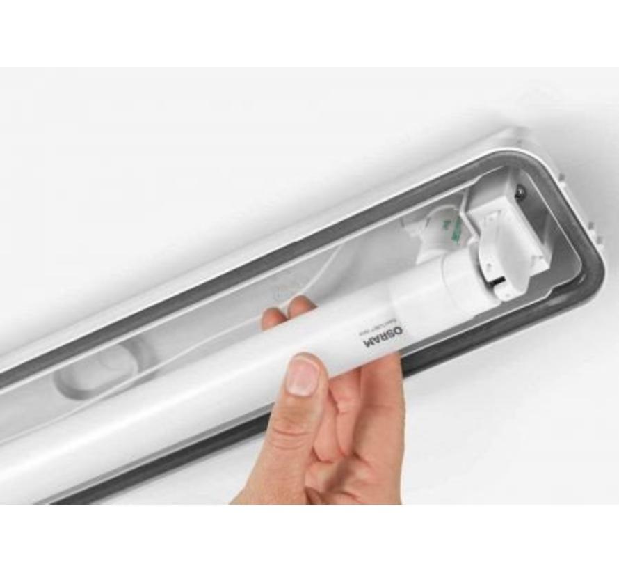 LED TL Armatuur Osram 120CM - 17W - 4000K - IP65 - Inclusief LED TL