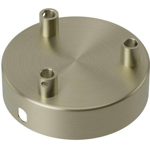 Lightexpert Calex Plafondkap Brons – 3 Snoeren