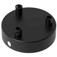 Lightexpert Calex Plafondkap Zwart – 3 Snoeren