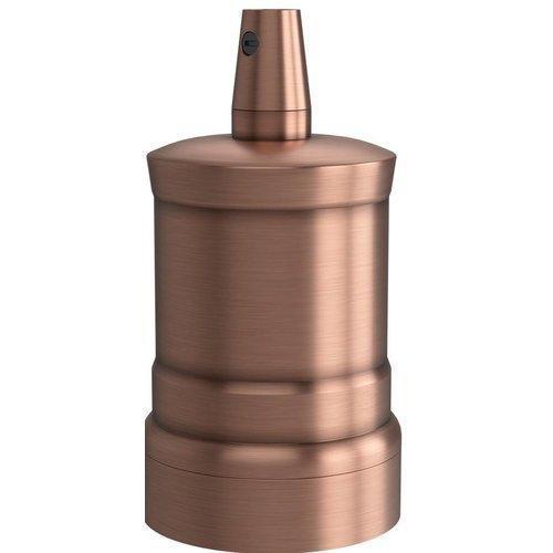 Lightexpert Calex Lamphouder E27 – Ø47mm – H42mm - Mat koper