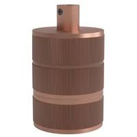 Lightexpert Calex Lamphouder E27 – Ø48mm – H63mm - Matt-Koper
