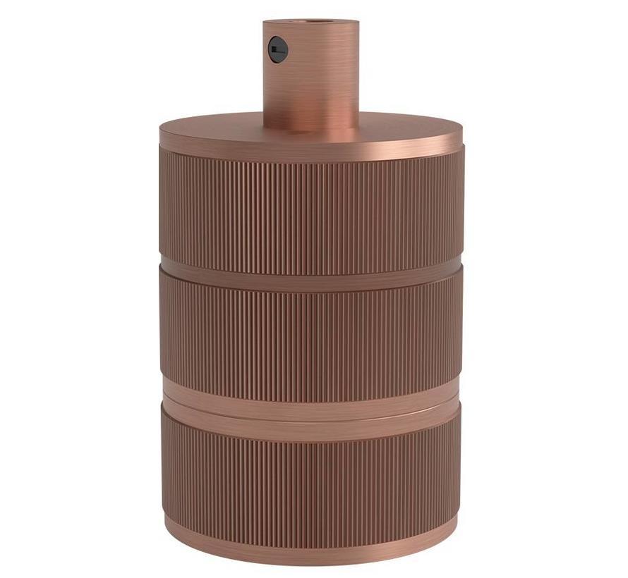 Calex Lamphouder E27 – Ø48mm – H63mm - Matt-Koper