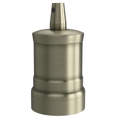Calex Lamphouder E27 – Ø47mm – H42mm - Mat-Brons