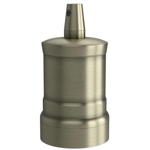 Lightexpert.nl Calex Lamphouder E27 – Ø47mm – H42mm - Matt-Brons