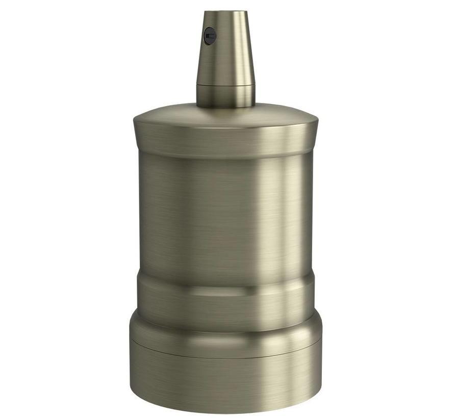 Calex Lamphouder E27 – Ø47mm – H42mm - Matt-Brons