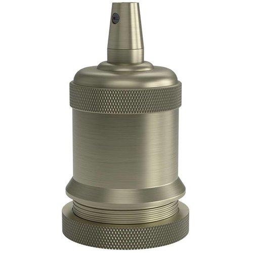 Lightexpert.nl Calex Lamphouder E27 – Ø50mm – H71mm - Matt-Brons
