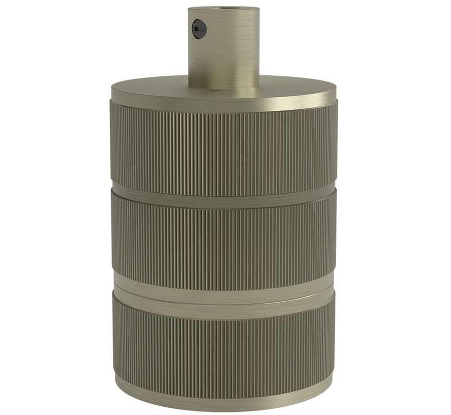 Calex Lamphouder E27 – Ø48mm – H63mm - Matt-Brons